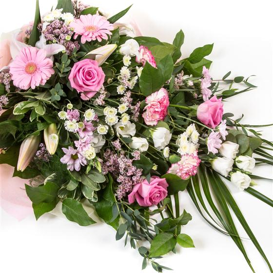 Pink & White Traditional Bouquet All About Flowers Florist