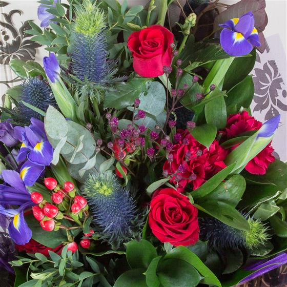 Midnight All About Flowers Florist Swindon
