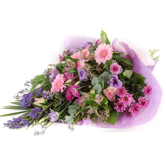 Pink & Lilac Traditional Bouquet